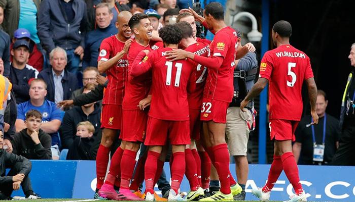 Liverpool'un serisini Chelsea de bozamadı