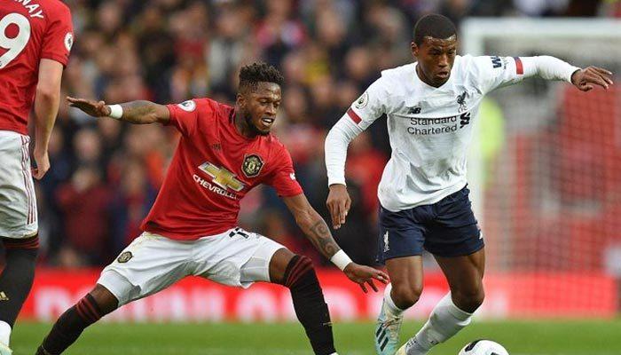 Liverpool'un serisini Manchester United durdurdu