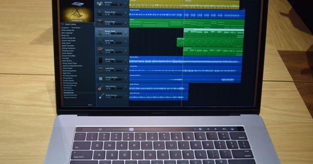 Logic Pro X'de Touch Bar piyanoya döndü!