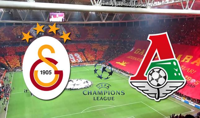 Lokomotiv Moskova Galatasaray Şampiyonlar Ligi maçı ne zaman saat kaçta hangi kanalda 5