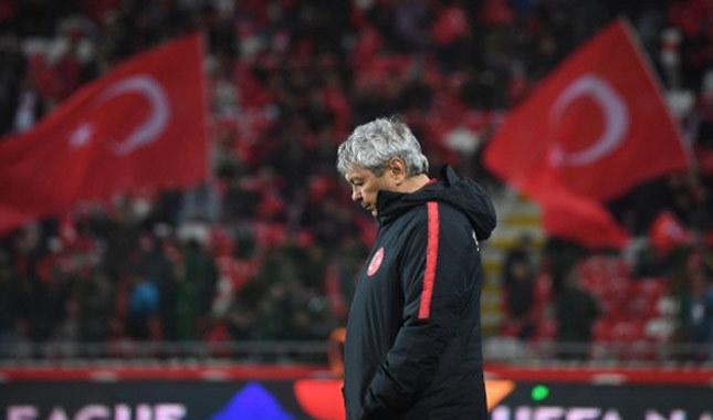 Lucescu'dan maç sonu açıklaması