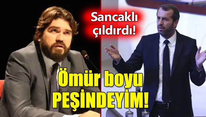 MHP Milletvekili Saffet Sancaklı, Rasim Ozan'a hala kızgın!