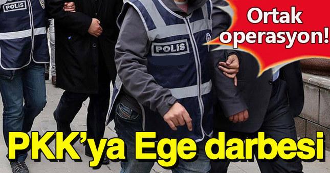 MİT ve emniyetten Ege'de PKK operasyonu