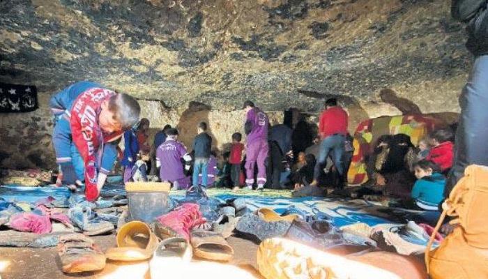 Yaşam alanı daralıyor! Mağaralara sığındılar