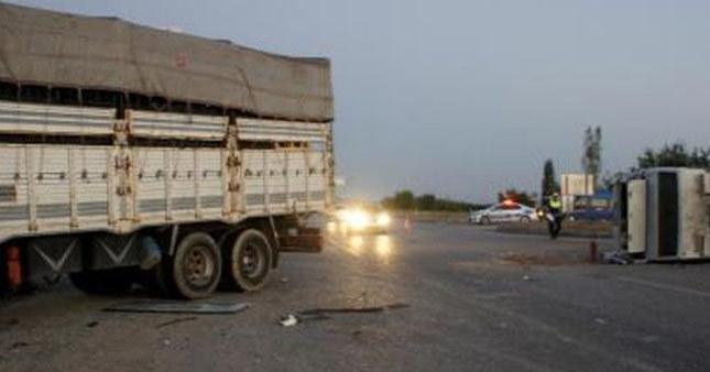 Manisa'da feci kaza: 31 yaralı
