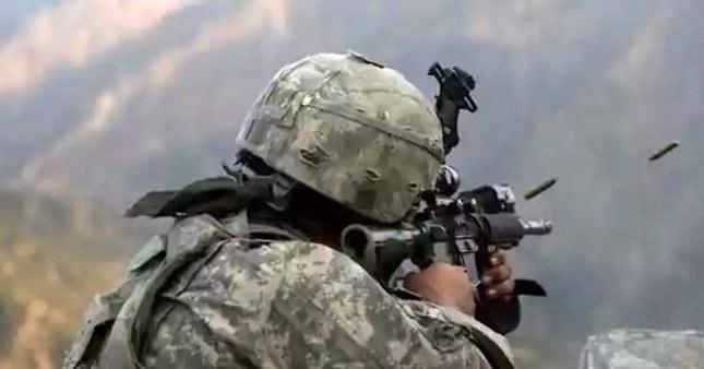 Mardin'de PKK'lılarla çatışma