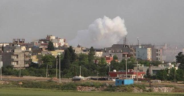 Mardin'de patlama ve silah sesleri