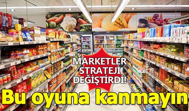 """Marketlerin yeni oyunu! İndirim olmayan """"İndirim"""" kampanyaları"""