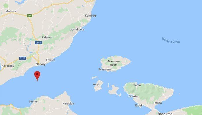 Marmara Denizi'nde deprem oldu