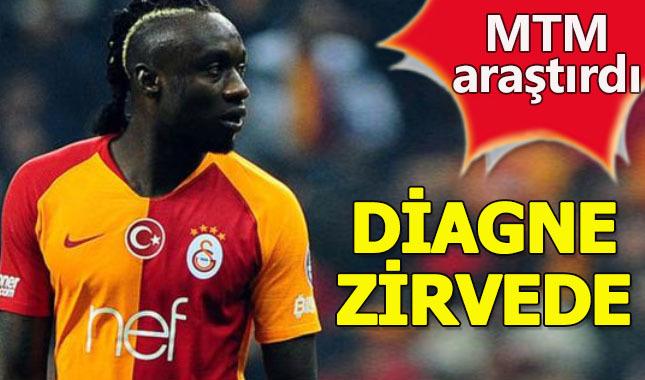 Mbaye Diagne medyada en çok konuşulan futbolcular listesinde ilk sırada