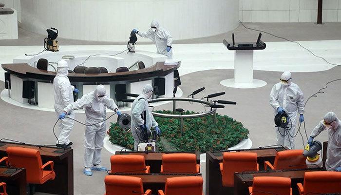 Meclis'te koronavirüs paniği! Gözlem altına alındı