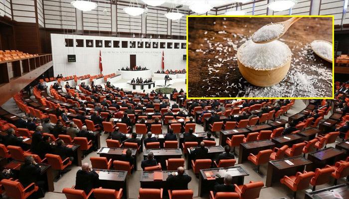 Meclis'teki 4 parti Çin tuzu yasağında birleşti