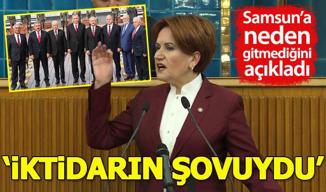 Meral Akşener, 19 Mayıs'taki tören iktidarın şovuydu
