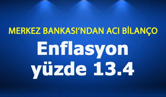 Merkez Bankası enflasyon tahminini arttırdı