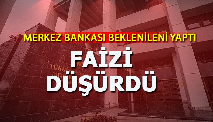 Merkez Bankası, faiz indirimine gitti
