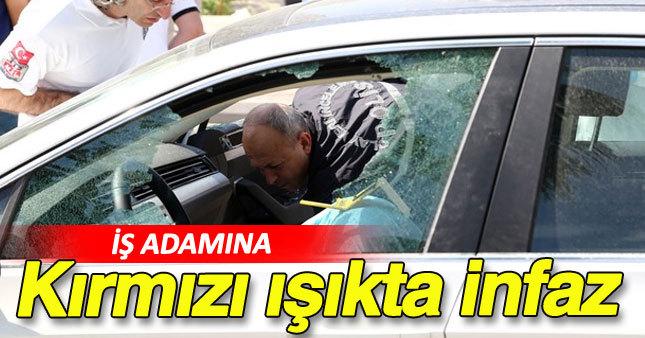 Mersin'de iş adamına korkunç infaz