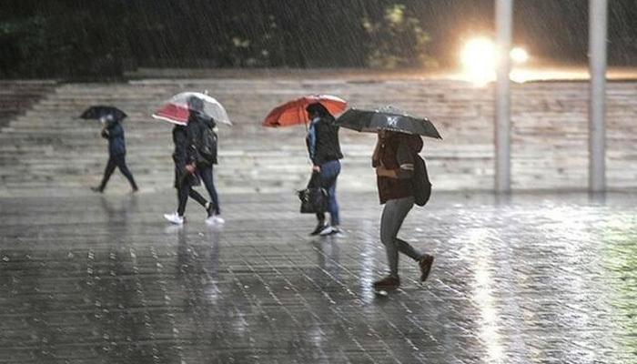 Meteoroloji 4 ili sağanak yağış için uyardı