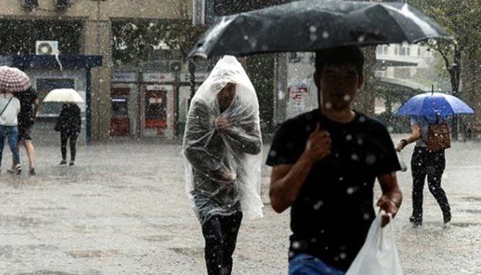 Meteoroloji uyardı: Şiddetli yağış geliyor