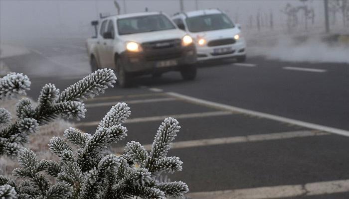 Meteorolojiden buzlanma ve don için uyarı