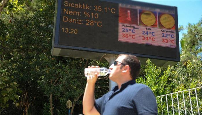 Meteorolojiden gelen uyarıyla sıcak havalara dikkat