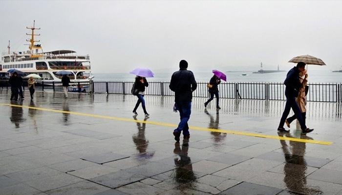 Meteoroloji'den yarın için sağanak uyarısı