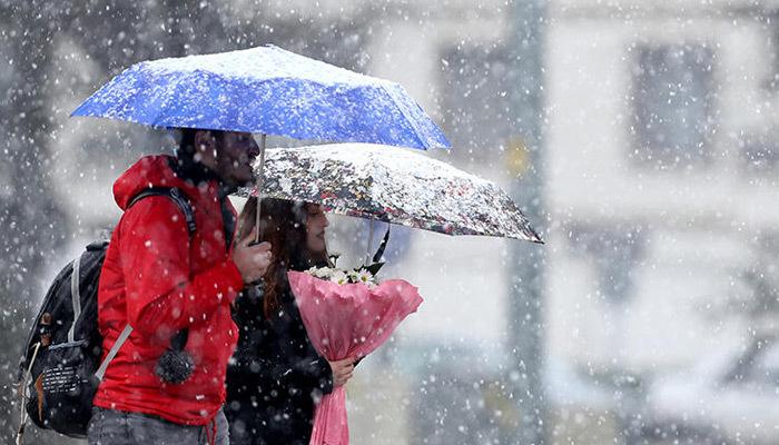 Meteoroloji'den yoğun ve kuvvetli kar yağışı uyarısı