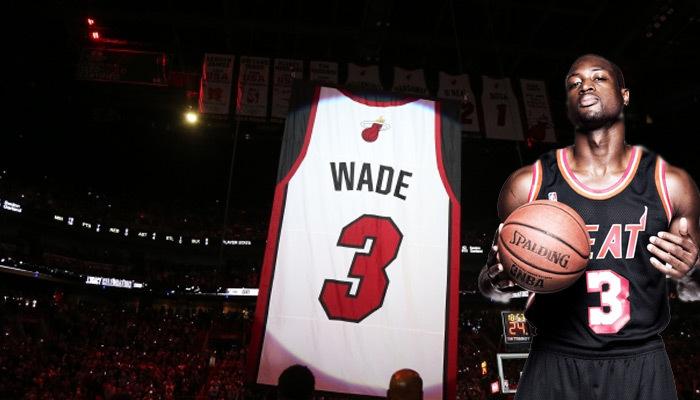 Miami Heat, Dwayne Wade'in formasını emekli etti