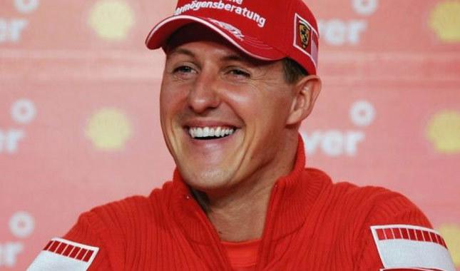Michael Schumacher'den sevindiren haber!