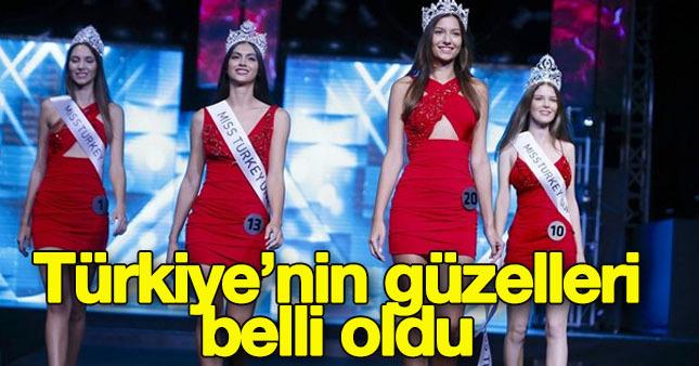Miss Turkey 2016 güzelleri seçildi