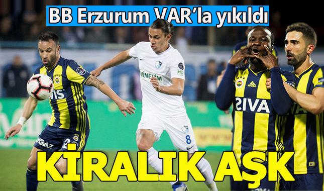 Moses attı 3 puanı kaptı | Erzurumspor 0-1 Fenerbahçe maç özeti izle