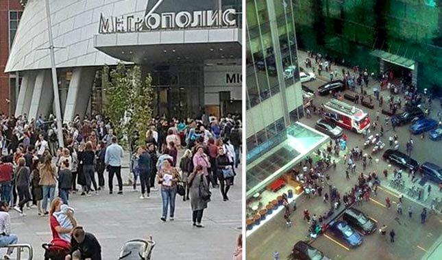 Moskova'da bomba alarmı! Binlerce kişi tahliye edildi