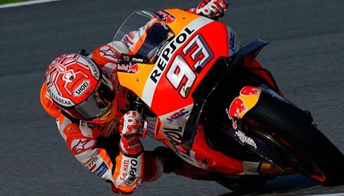 MotoGp Aragon yarışında zirve Marquez'in