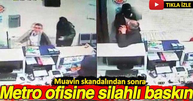 Muavin'in taciz skandalından sonra Metro Turizm firmasının ofisine silahlı saldırı düzenlendi