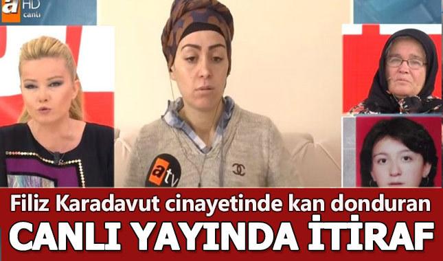 Müge Anlı - Filiz Karadavut'u kim öldürdü, Filiz'i ablası mı öldürdü, eniştesi mi öldürdü?