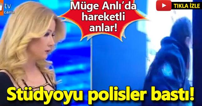 Müge Anlı'da şok polis stüdyoyu bastı - Sibel Burgu bulundu mu?