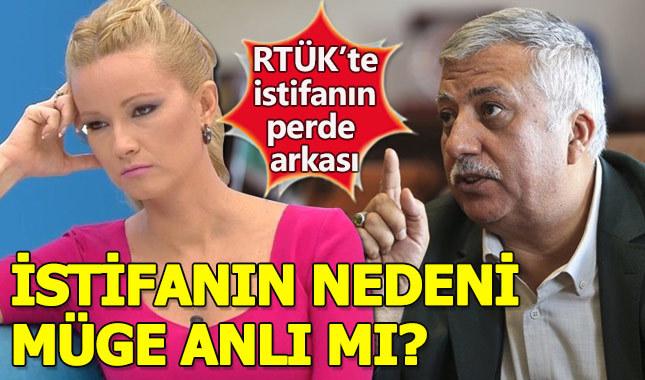 Müge Anlı'nın yayından kaldırılacağı konuşulurken RTÜK istifası geldi