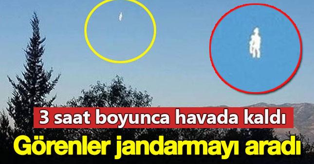 Muğla'da UFO alarmı