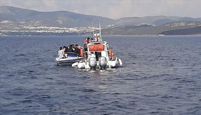 Muğla'da göçmenleri taşıyan bot battı