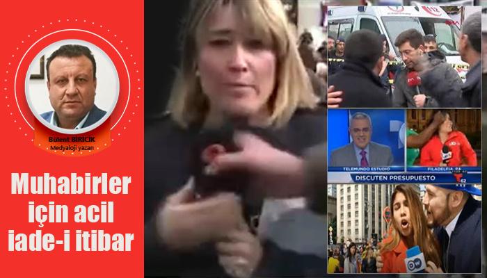 Muhabirler için acil iade-i itibar