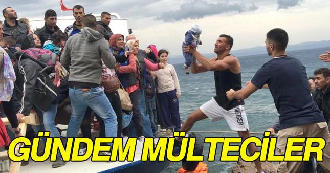 Mülteci sorunu gündemdeki sıcaklığını koruyor