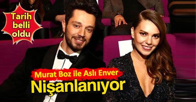 Murat Boz ile Aslı Enver evlilik yolunda...