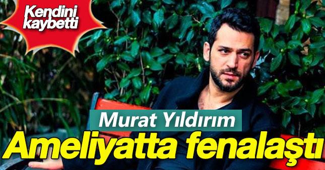 Murat Yıldırım ameliyat izlerken fenalaştı