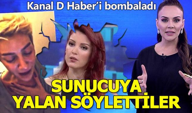 Nagehan Alçı, Kanal D haberi topa tuttu