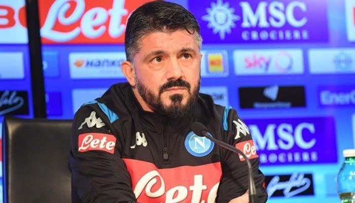 Napoli'nin yeni teknik patronu Gattuso oldu