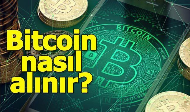 bitcoin nasil satin alabilirim