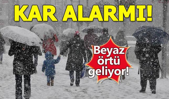 İstanbul'a hafta sonu kar yağacak mı? İşte hava durumu (23 Aralık Cumartesi-24 Aralık Pazar) ile ilgili görsel sonucu