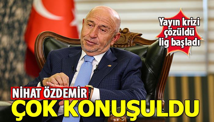 Nihat Özdemir en çok konuşulan yönetici