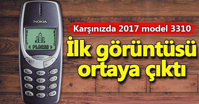 Nokia 3310 ilk görüntüsü sızdırıldı! İşte Nokia 3310 yeni hali