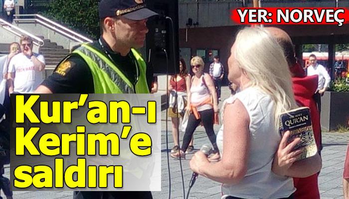 Norveç'te Kur'an-ı Kerim'e saldırı