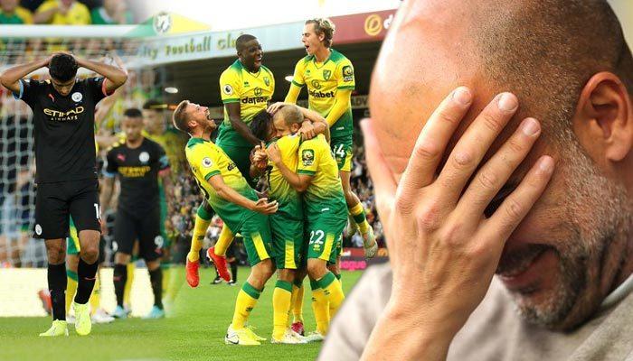 Manchester City, Norwich'e boyun eğdi